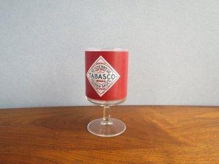 ビンテージ TABASCOグラス