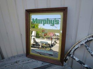 ビンテージ Murphy's パブミラー