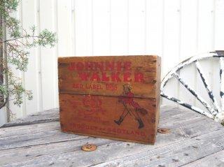 ビンテージ Johnnie Walker 木箱