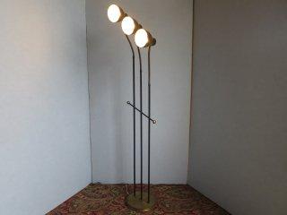 ビンテージ 50's 3灯スポットフロアランプ