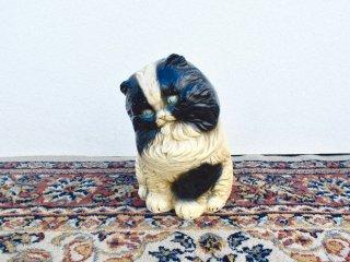 ビンテージ 40's 陶器ネコオブジェ