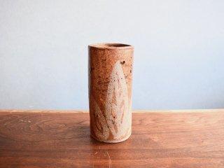ビンテージ 陶器フラワーベース