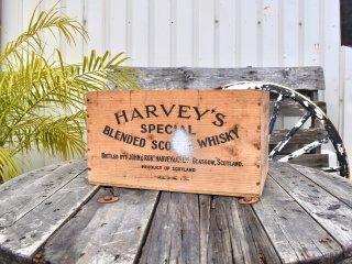 ビンテージ HARVEY'S 木箱