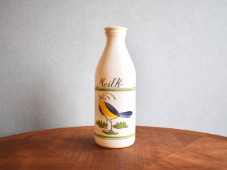 ビンテージ  Siesta Ware ミルクガラスボトル