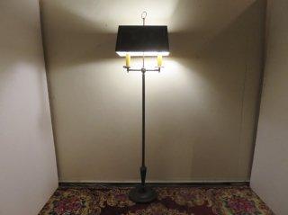 ビンテージ 2灯アイアンフロアランプ