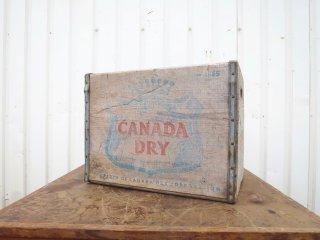 ビンテージ CANADA DRY 木箱