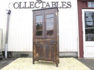 ビンテージ 30-40's Vicksburg Furniture社製 ウッドカップボード