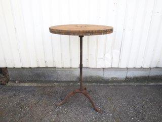 ビンテージ アイアンカフェテーブル