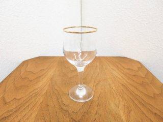ビンテージ  ガラスワイングラス