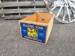 ビンテージ BLAZINGSTAR 木箱