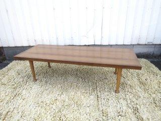 ビンテージ 60's ウッドコーヒーテーブル