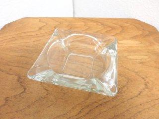 ビンテージ ガラスアシュトレイ