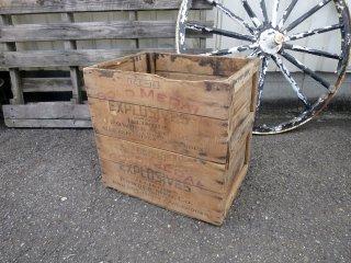 ビンテージ Illinois Powder Mfg社製 木箱