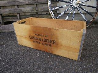 ビンテージ LUTHY & LOCHER 木箱