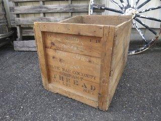 ビンテージ Blue Bar Coconut 木箱