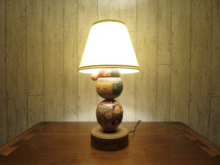 ビンテージ 50's コケシ テーブルランプ
