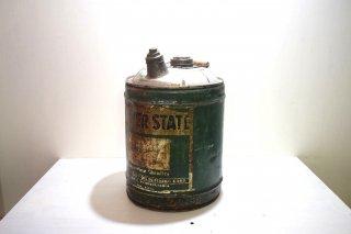 ビンテージ QUAKERSTATEオイル缶