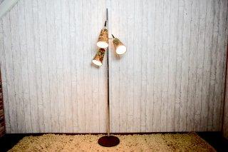 ビンテージ 60-70's 3灯フロアランプ