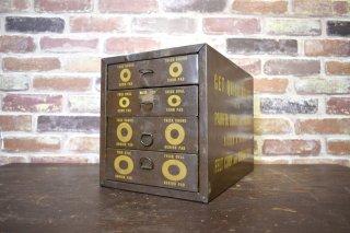 ビンテージ メタルメディカルボックス