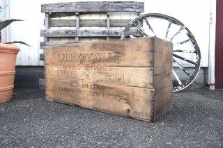 ビンテージ LAMBERTVILLE RUBBER CO. 木箱