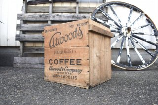ビンテージ atwoods COFFEE 木箱