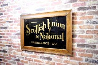 アンティーク Scottish Union &National ウォールデコ
