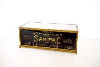 アンティーク SANIPAC ショーケース