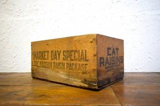 ビンテージ EAT RAISINS 木箱