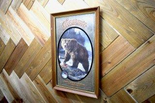 ビンテージ Hamm's BEER パブミラー