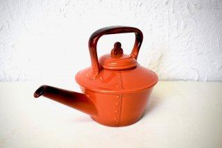 ビンテージ 陶器ケトル