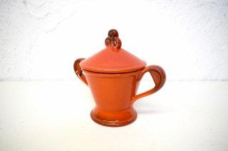 ビンテージ 陶器シュガーポット