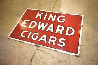 ビンテージ KING EDWARDS CIGAR ホーローサイン