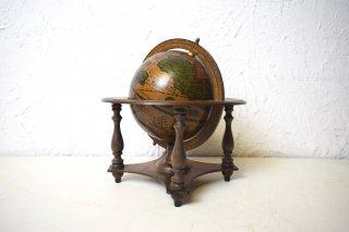 ビンテージ italy製 コロニアル型地球儀