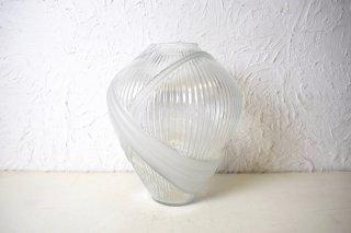 ビンテージ SILVESTRI社製 ガラスフラワーベース
