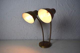 ビンテージ 60's 2灯テーブルランプ