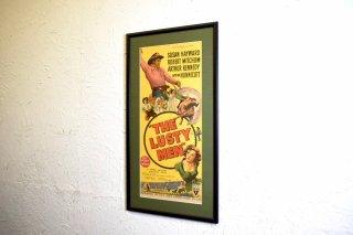 ビンテージ THE LUSTY MEN ポスター