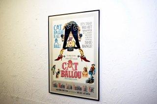 ビンテージ CAT BALLOU ポスター