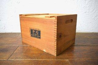 ビンテージ P&G Soap社 木箱