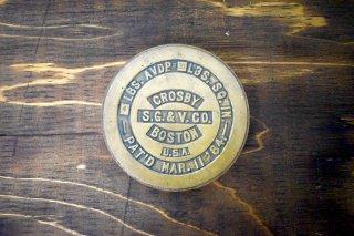 アンティーク Crosby S.G. & V. CO. ブラスウェイト