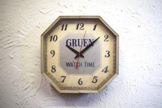 ビンテージ 50's Gruen社製 ウォールクロック