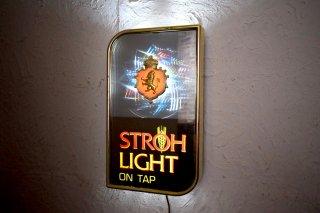 ビンテージ 70's STROH LIGHT ライトサイン