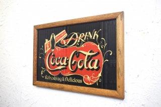 ビンテージ Coca Cola ウォールデコ