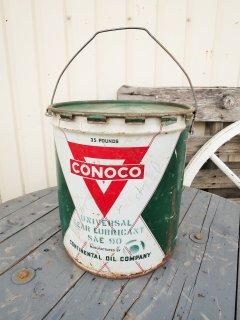 ビンテージ CONOCO缶