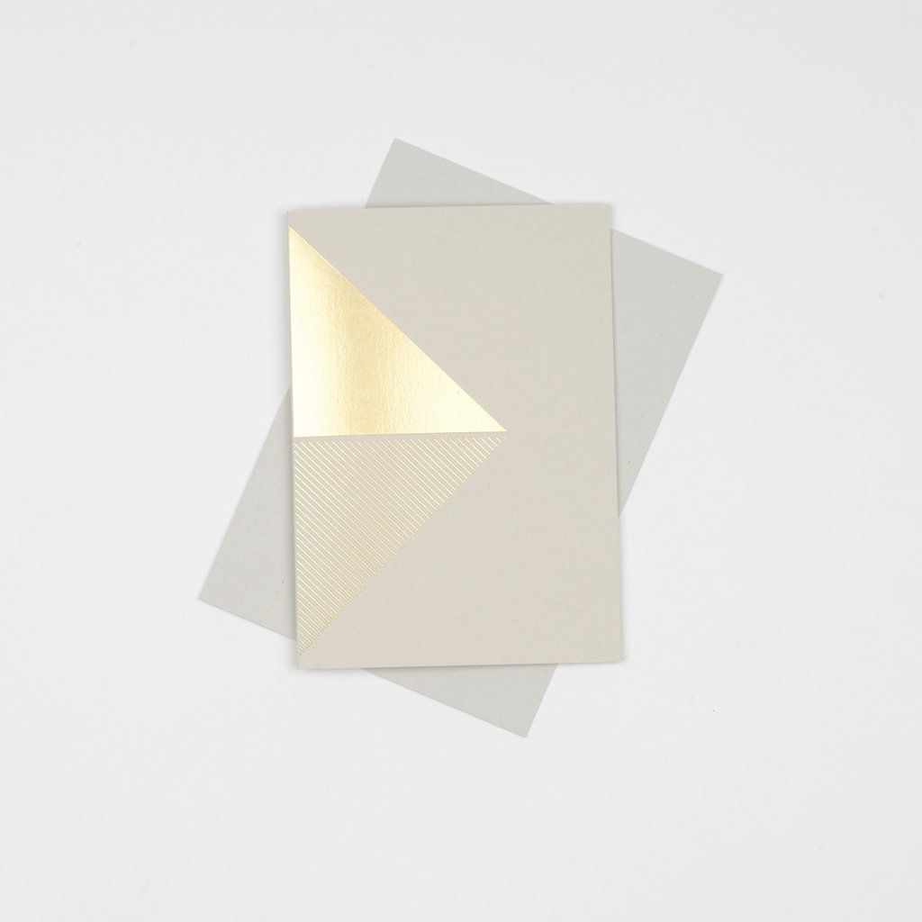 Tom Pigeon/Reflex card Brass Grey