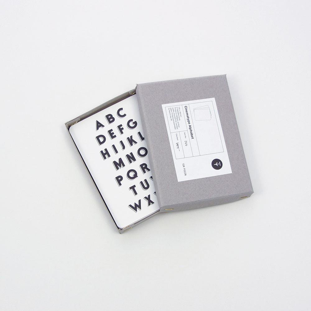 Tom Pigeon/Cinematype Alphabet Box