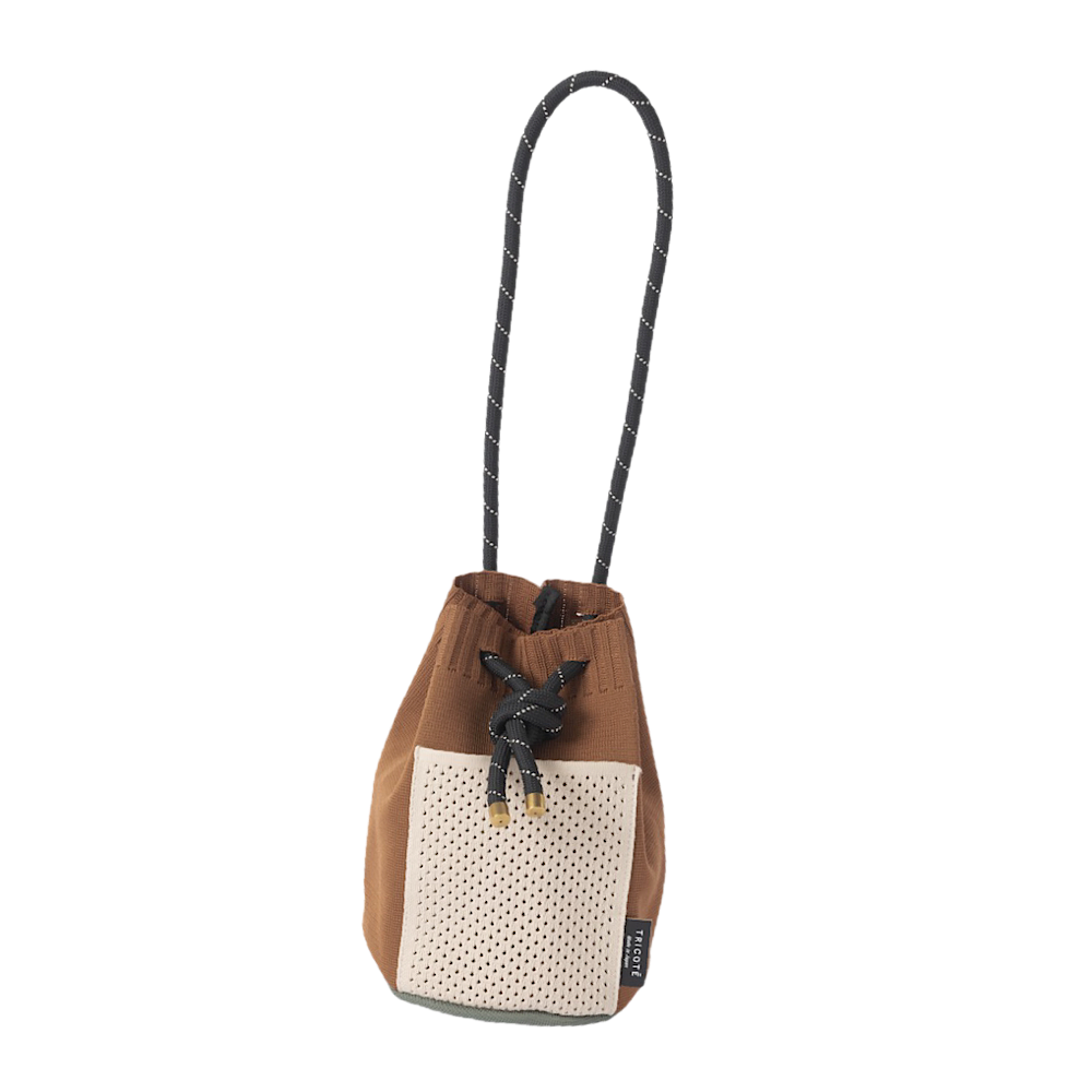 <img class='new_mark_img1' src='https://img.shop-pro.jp/img/new/icons57.gif' style='border:none;display:inline;margin:0px;padding:0px;width:auto;' />TRICOTE/mesh pocket handbag