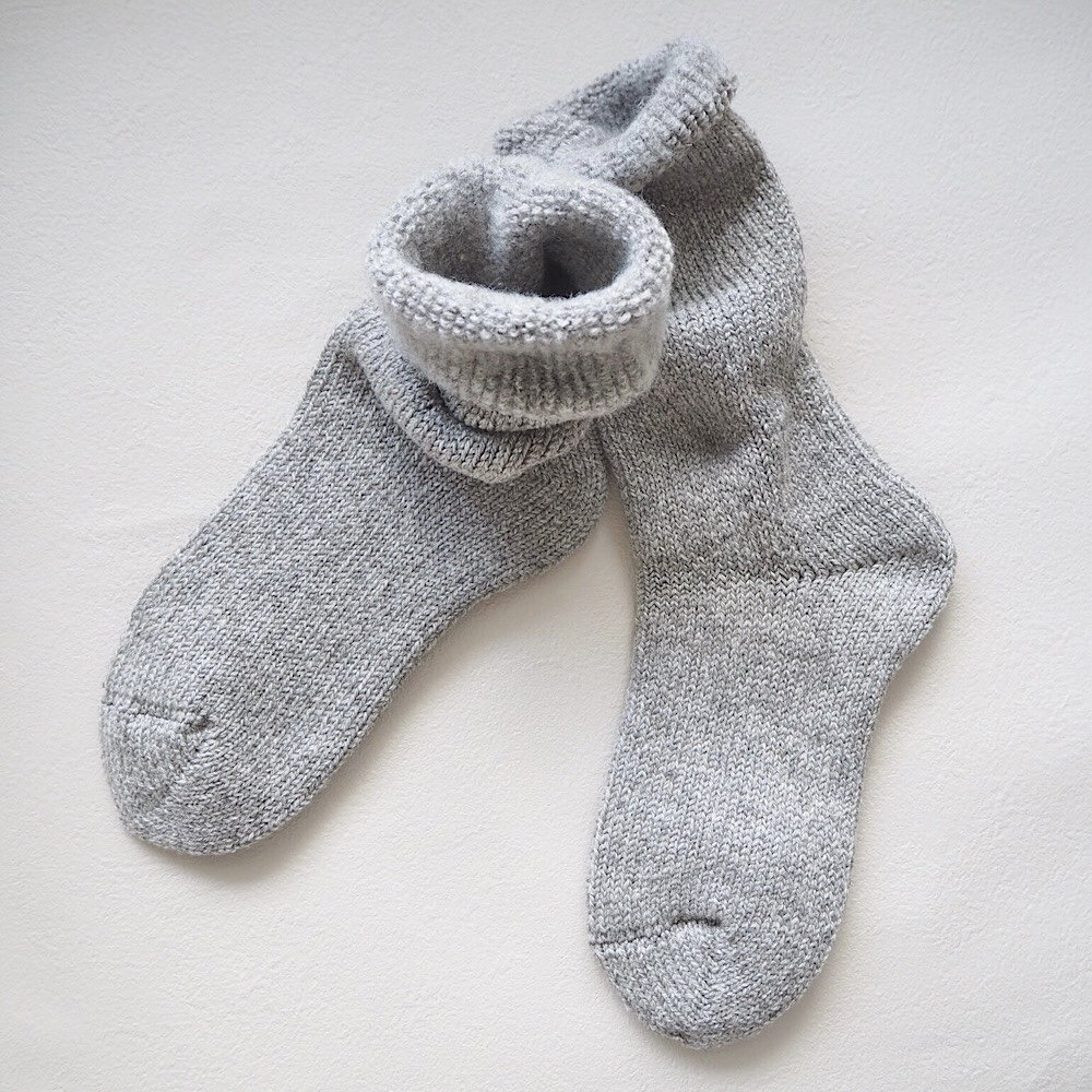 decka/washable wool room socks