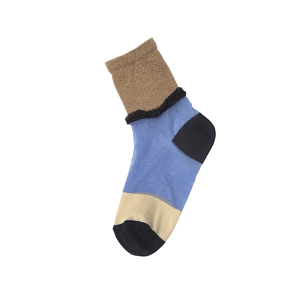 <img class='new_mark_img1' src='https://img.shop-pro.jp/img/new/icons14.gif' style='border:none;display:inline;margin:0px;padding:0px;width:auto;' />TRICOTE/layer sheer socks