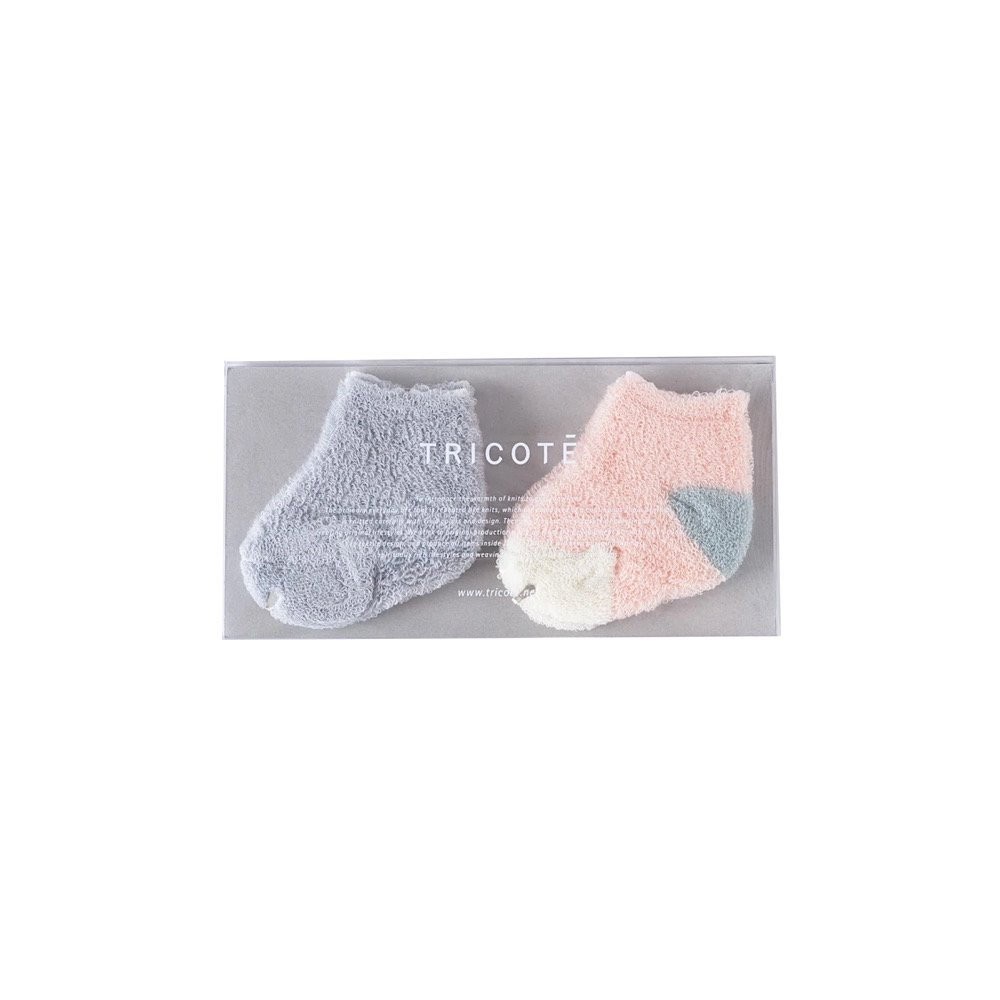 <img class='new_mark_img1' src='https://img.shop-pro.jp/img/new/icons14.gif' style='border:none;display:inline;margin:0px;padding:0px;width:auto;' />TRICOTE/【baby】pile socks set