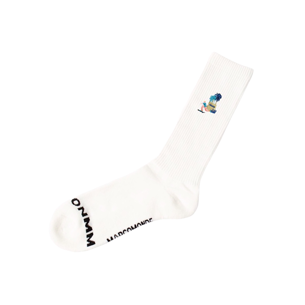 MARCOMONDE/ONMM embroidery  socks
